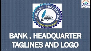 Taglines of Various Banks | Static GK | SSC & Bank videos
