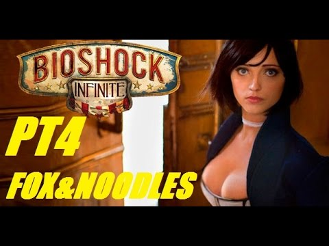 Fox & Noodles Plays Bioshock Infinite Pt4: Machine Gun Sally!