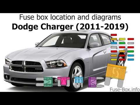 dodge charger fuse diagram fuse box location and diagrams dodge charger  2011 2019  youtube 2006 dodge charger fuse diagram fuse box location and diagrams dodge