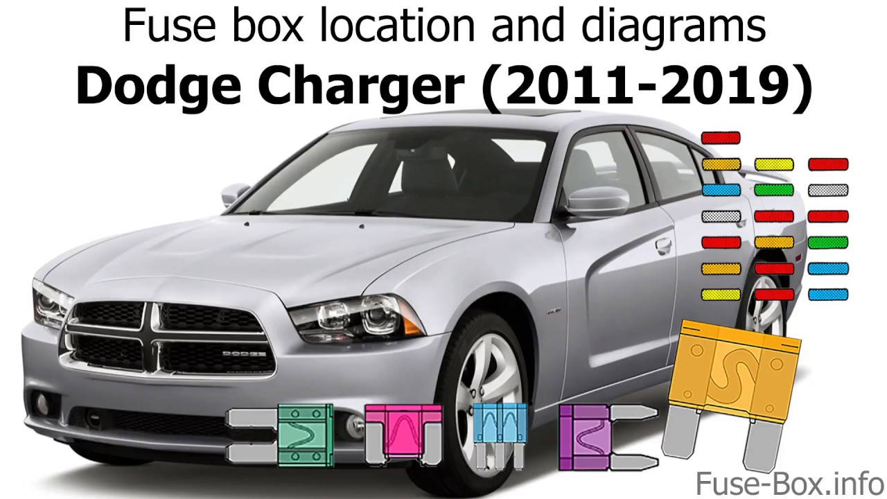 Fuse box location and diagrams: Dodge Charger (2011-2019) - YouTubeYouTube