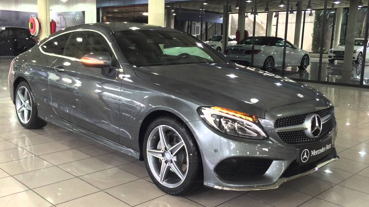mercedes benz vegar c 220d amg coup gris selenita youtube. Black Bedroom Furniture Sets. Home Design Ideas