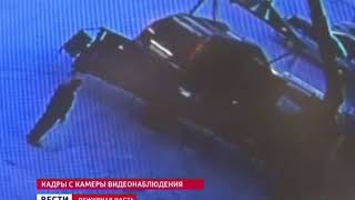 Эвакуатор опрокинулся в Ангарске во время выгрузки автомобиля