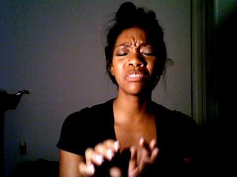 "Singing Brandy's ""Tomorrow"" in my dorm room..2008"