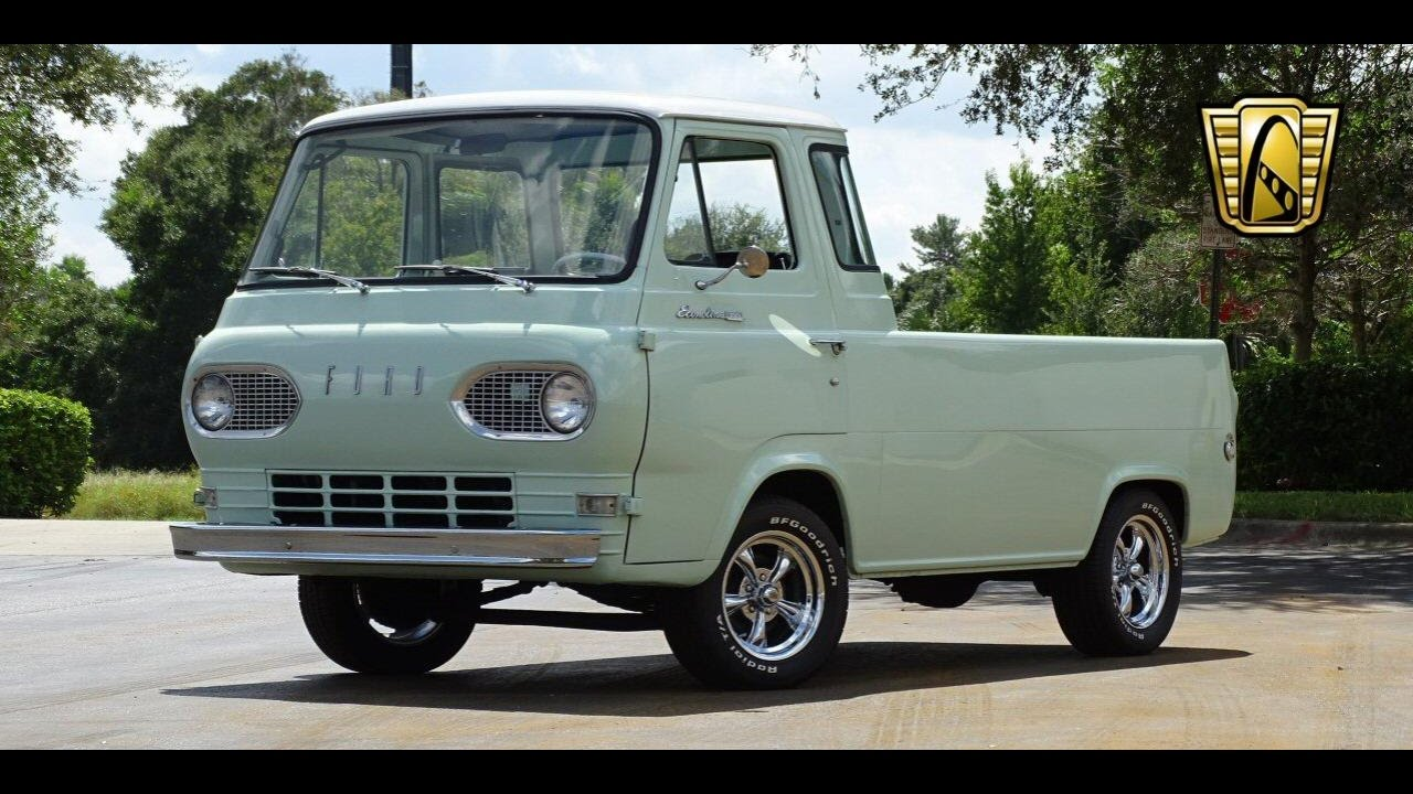 1966 Ford Econoline Pickup Gateway Classic Cars Orlando #596 - YouTube