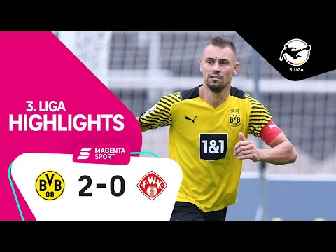 Dortmund (Am) Wurzburger Kickers Goals And Highlights