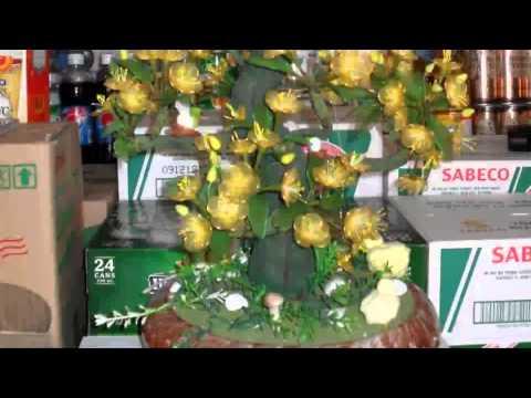 Sản phẩm: thú, giỏ hạt cườm - hoa giả bonsai - áo khoát nữ