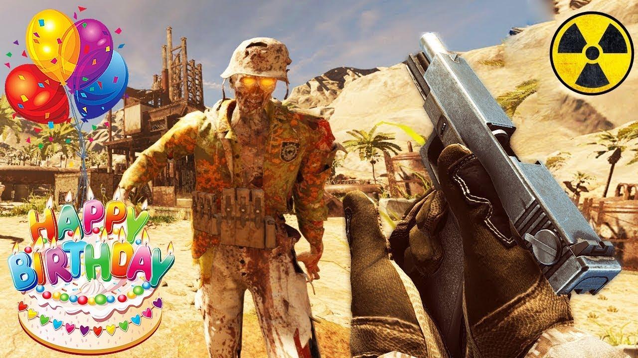 BIRTHDAY STREAM!!! THE BEST CUSTOM ZOMBIE MAPS EVER! \'Rust Zombies\' (CoD:  Custom Zombies)