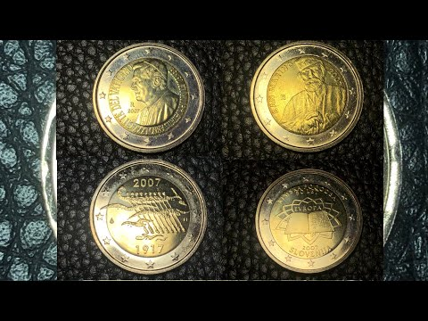 ULTRA RARE 2 EURO COIN COLLECTION 2007