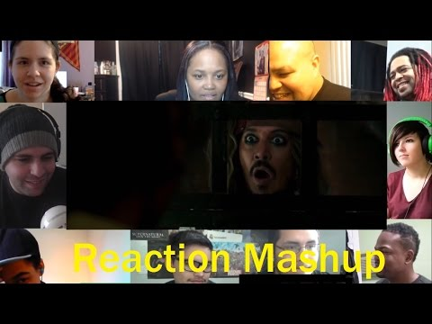 PIRATES OF THE CARIBBEAN  DEAD MEN TELL NO TALES Official Trailer #3 REACTION MASHUP