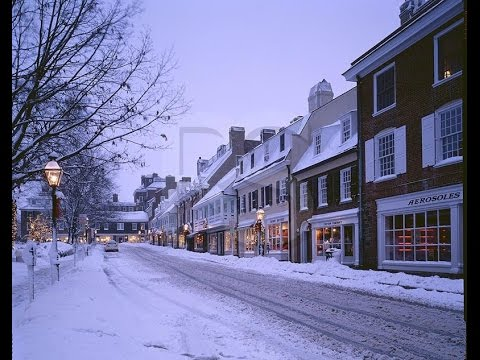 Princeton New Jersey - Nassau Street, Princeton University