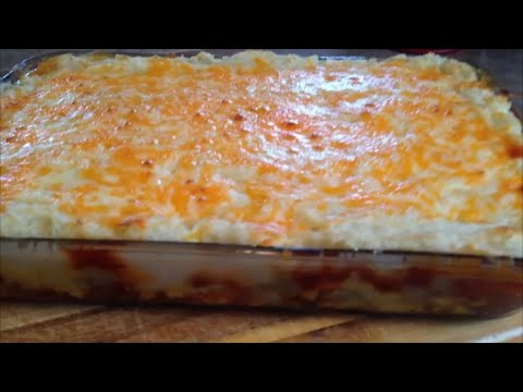 how to stop shepards pie from overflowing