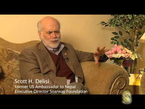 Scott H. Delisi  with Sagarmatha TV USA