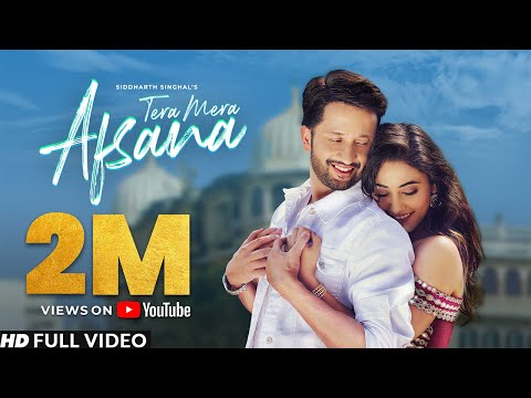 official-song---tera-mera-afsana-|-siddharth-singhal-ft.-charvi-dutta-|-vikram-singh