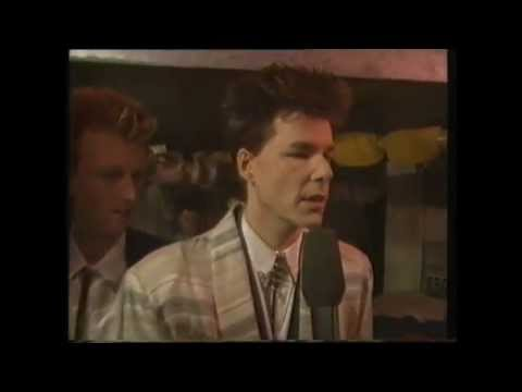 Big Country The Teacher & Interview (1986 Montreux Festival TV Show)