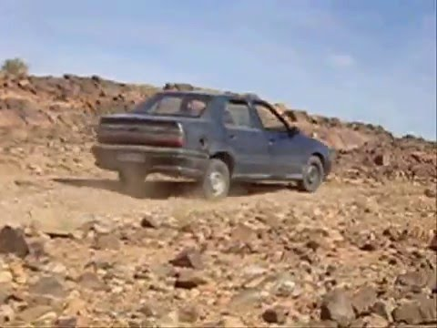 2WD Driving pistes Morocco Renault 19 Atlas Mountains Western Sahara Rif Off-Road Overland by car