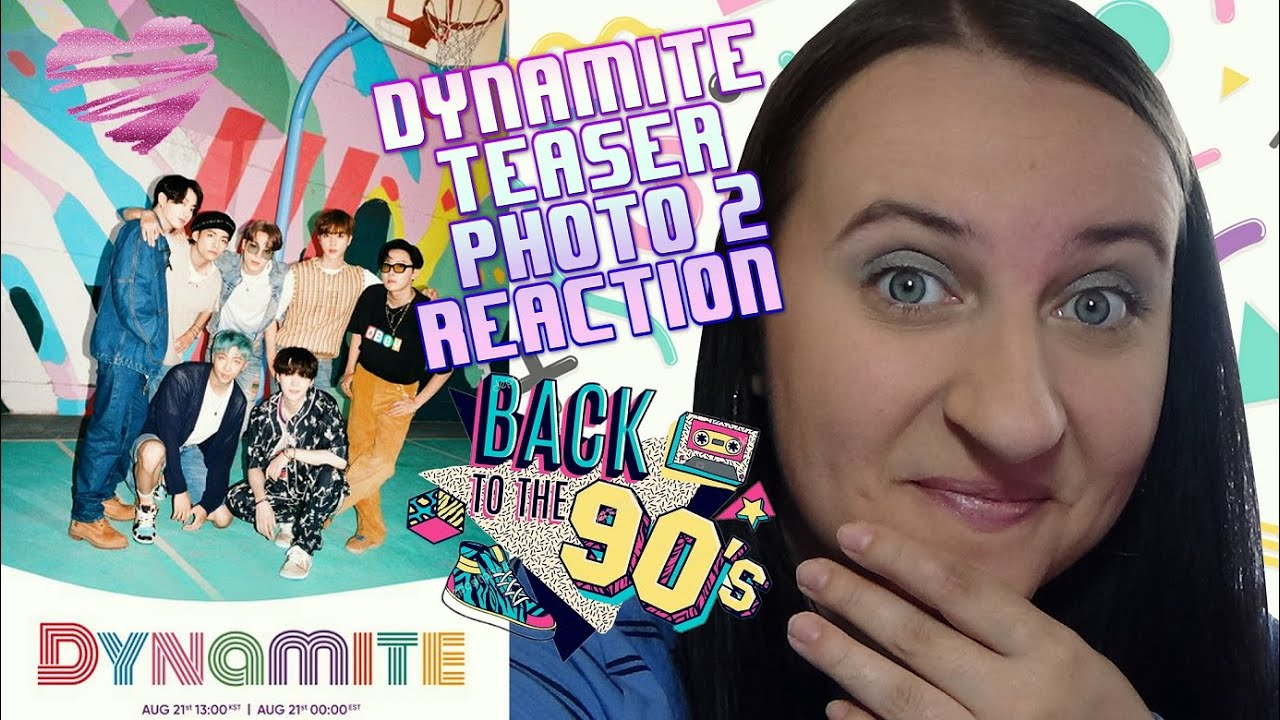 BTS DYNAMITE Group Photo TEASER REACTION (Teaser Photo 2) - YouTube