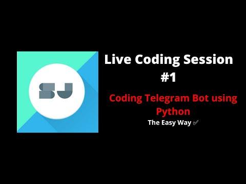Coding Telegram Bot Using Python: The Easy Way!