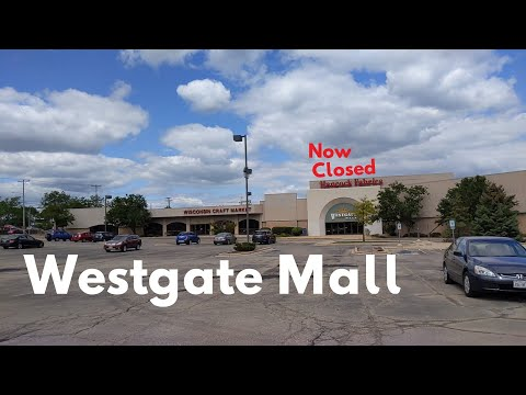 Almost Abandoned Westgate Mall In Madison, WI *CLOSED SEPTEMBER 2019*