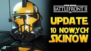 10 NOWYCH SKINÓW JUŻ JEST! Star Wars Battlefront 2 PL