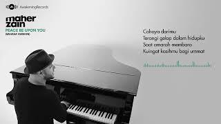 Gambar cover Maher Zain - Peace Be Upon You (Bahasa Version)   Official Lyric Video