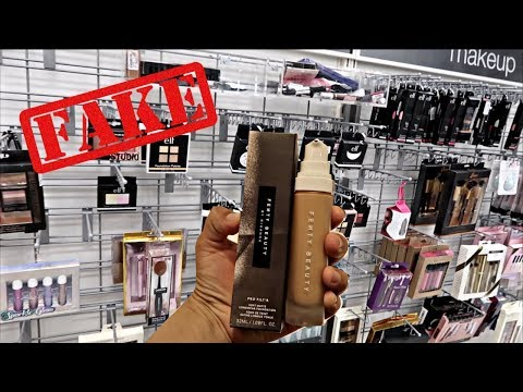 FAKE FENTY BEAUTY FOUNDATION At Marshalls !!!