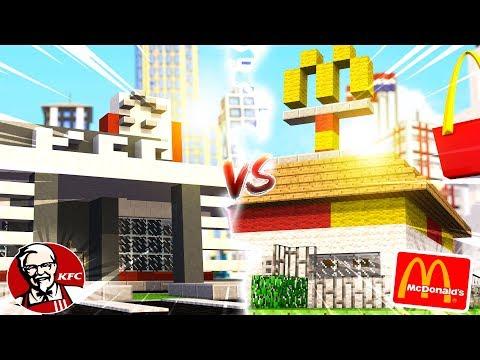 KFC HAUS VS. MCDONALDS HAUS BATTLE