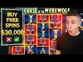 $30,000 Bonus Buy on Curse of the Werewolf Megaways 🐺 (30K Bonus Buy Series #18)
