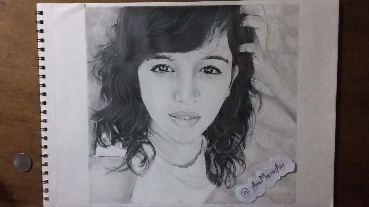 Drawing Shirley Setia Valentines Day Special By Amol