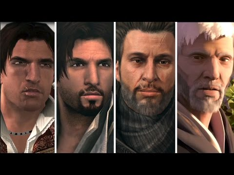 Historia completa de Ezio Auditore (Assassin's Creed 2, Brotherhood, Revelations y Embers)