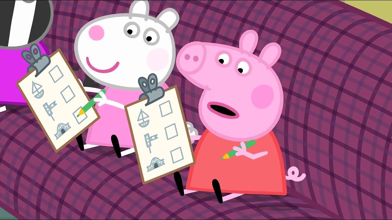 Peppa Pig en Español | El primer paseo en tren de Peppa | Pepa la cerdita