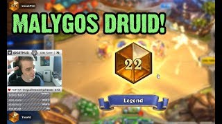 [ThijsHS] Malygos Druid Top 25 Legend - Standard Meta Deck!