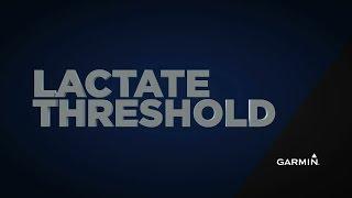Estimating Lactate Threshold