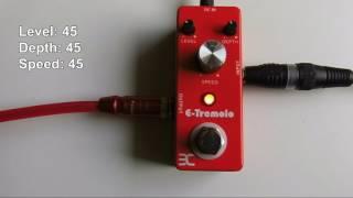 ENO TC-43 E-Tremolo Effektpedal