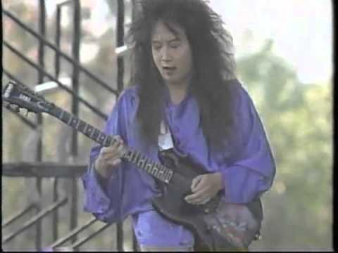 Kuni (クニ) - Lookin' For Action (Japan Aid 2nd, Showa Kinen Park, Tokyo, Japan, 1987-10-04)