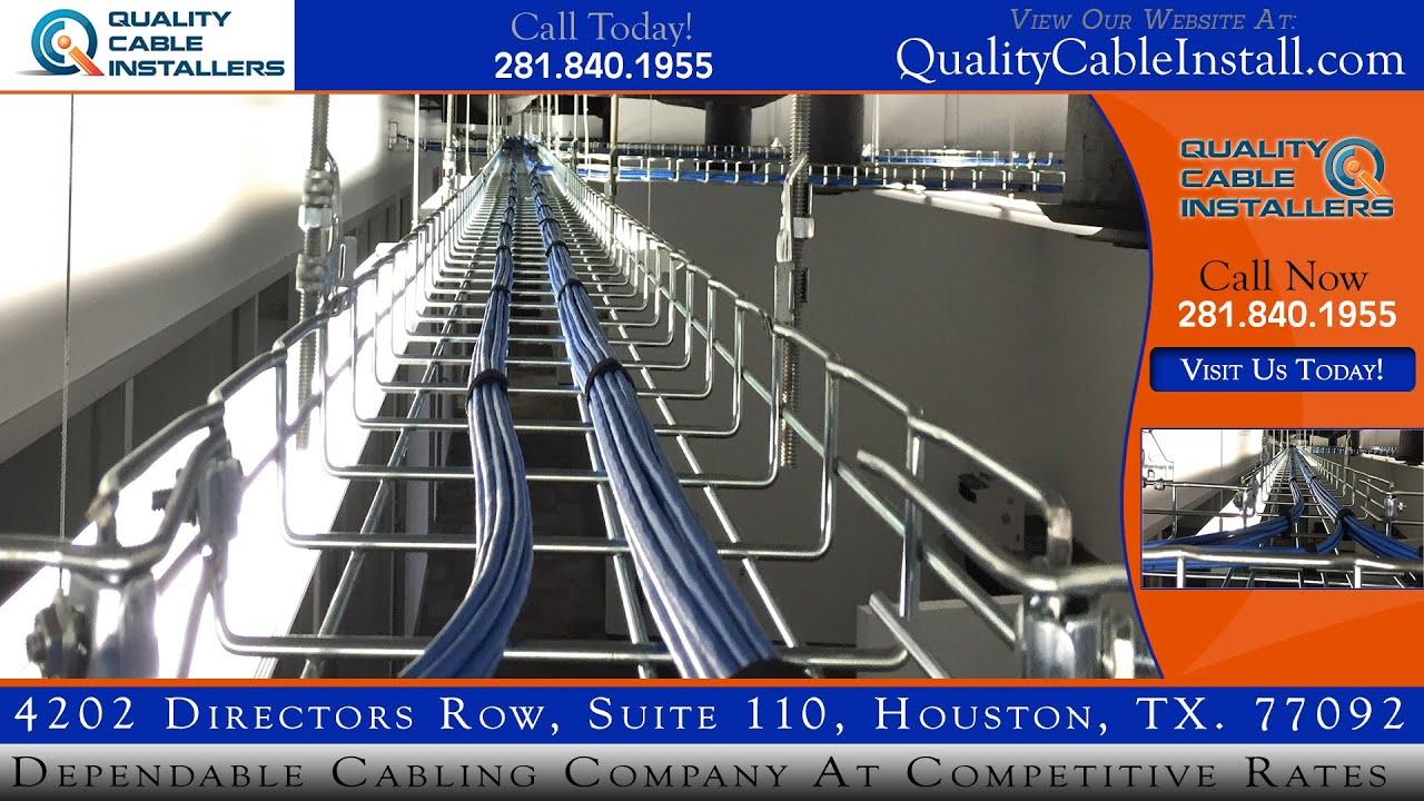 Cable Installer Houston | QualityCableInstall.com - YouTube