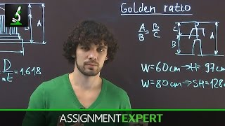 What is Golden Ratio - easy explanation