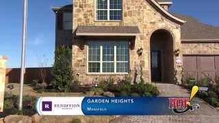 Garden Heights in Mansfield, TX - Rendition Homes