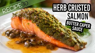The most delicious herb crusted salmon recipe you will taste. This ...