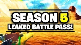 OBLIVION (FEMALE OMEGA) OUT NOW! FORTNITE| SEASON 5 LEAKED BATTLE PASS| WE GOT ELGATO BOYZZZ