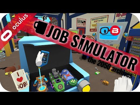 MECHANIC JOB I ALWAYS WANTED! - JOB SIMULATOR VR GAMEPLAY - #Sponsored by Oculus Rift Touch VR Games