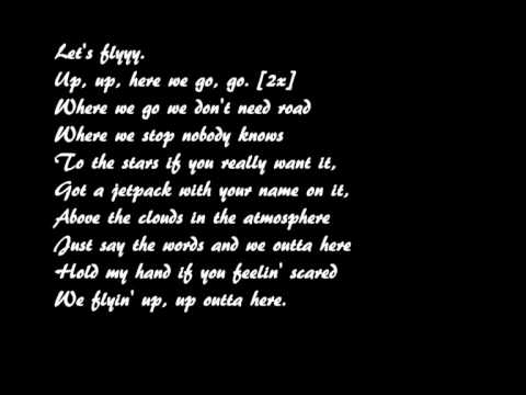Justin Robinett Rocketeer/Geek In The Pink (lyrics)
