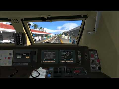 (Train Simulator 2017) Operating Amtrak Silver Meteor 97 From West Palm Beach To Miami