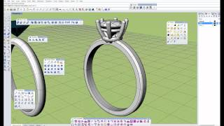 3d modeling tutorial for jewellery. Wedding ring. Rhinoceros 3d