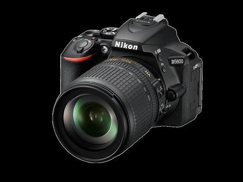 Nikon D5600 .Large 24.2 megapixel DX-format. EXPEED 4 image-processing engine.