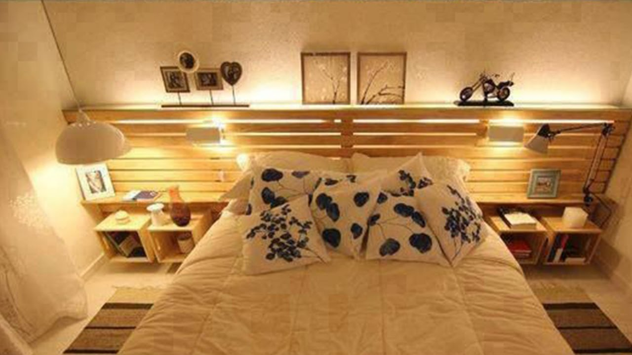 35 recycled pallet ideas for your DIY furniture  YouTube