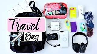 connectYoutube - What's In My Carry On | Travel Tips + Essentials!