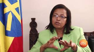 Interview with culture and tourism minster w/r  Tadelech  Delato on Semonun Addis | TV Show
