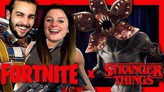 THE SKIN THE MOST TERRIFIANT OF FORTNITE! STRANGER THINGS X FORTNITE DUO EN