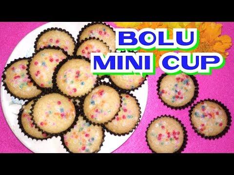 Resep Kue Kering Bolu Mini Cup - Cantik Ga Pake Ribet - YouTube