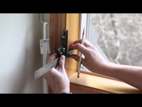 Mr. Goodbar Window Security Bar and Keyless Quick Release Locking System Installation v1p0.mov